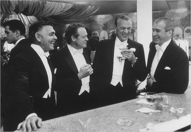clark-gable-van-heflin-gary-cooper-and-jimmy-stewart-new-years-eve-1957